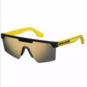 Marc Jacobs Sunglasses unisex yellow and grey